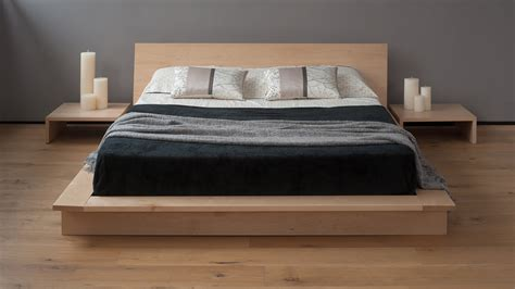 low beds oregon low platform bed solid wood natural bed company