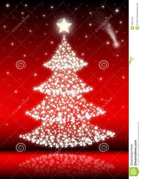weihnachtsbaum rot stockbild bild 12251701
