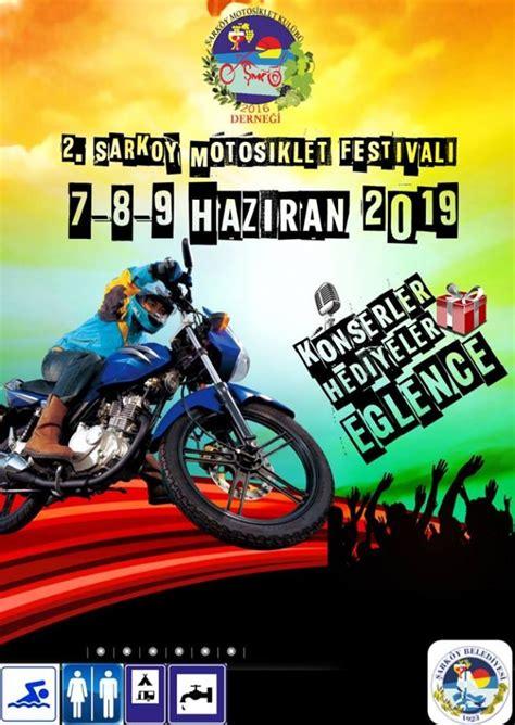 sarkoey motosiklet festivali motorcularcom