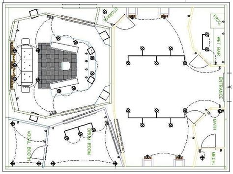 recording studio floor plans 30 best recording studio plans layouts images on