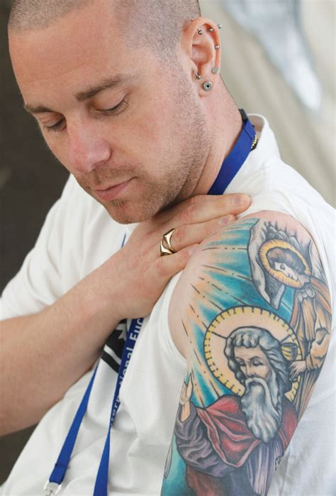 christian tattoo magazine marked for christ the sacred symbolism of religious