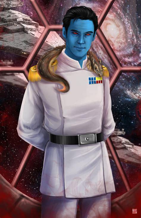 star wars thrawn 1780894848 grand admiral thrawn by tyrinecarver star wars more grand admiral thrawn ideas