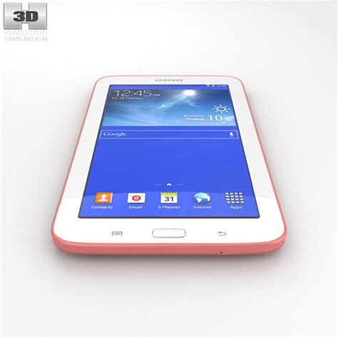 Samsung Tab 3 3d samsung galaxy tab 3 lite pink 3d model hum3d