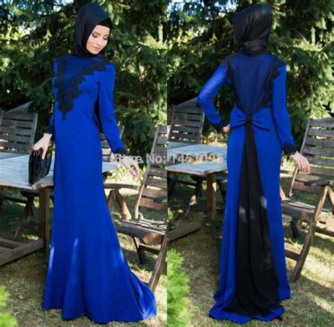Cacao Hijabmatch Royal Blue how to wear with gowns 20 modest ways to try