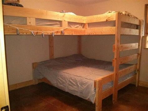 King Size Bunk Bed Cabin Bunk Bed King Size Bed On Bottom 2 Size Beds On Top Decor And Organizing Tips