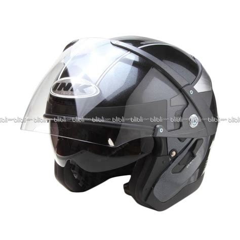 Helm Ink Solid jual ink metalico solid bk met helm open