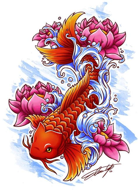 feminine koi fish tattoo designs 25 best ideas about coy fish on koi