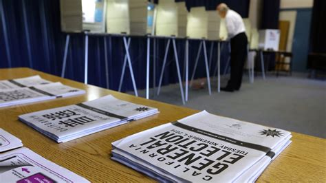 Voter Registration Records California Conservative Warning Of Fraud Wants