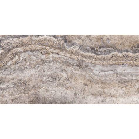roman silver vein cut honed filled travertine tiles 12x24