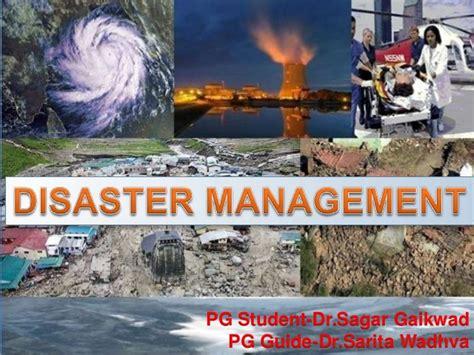 earthquake disaster management disaster management