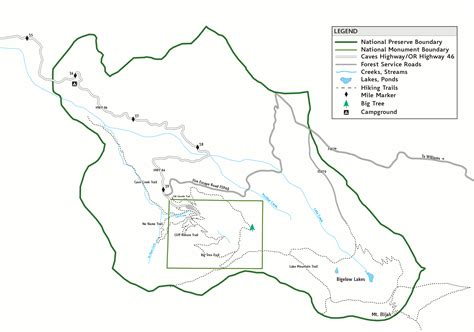 oregon caves map oregon caves maps npmaps just free maps period