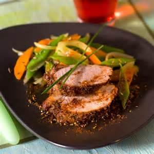 filet de porc en robe d 233 pices facile et pas cher