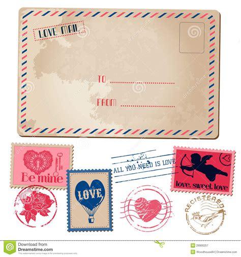 libro amor love vintage postal de la tarjeta del d 237 a de san valent 237 n del amor del vintage fotograf 237 a de archivo libre de