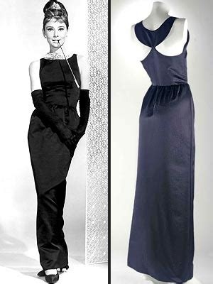 Dress Worn By Hepburn Sold For 920000 by The Iconic Hepburn Reelrundown