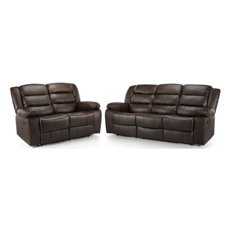 Leather Reclining Suites by Whitfield 3 And 2 Seater Leather Reclining Suite Next