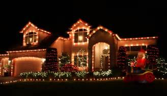 ideas for decorating house with christmas lights images