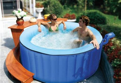 badewanne aufblasbar luxus whirlpool 4p mspa spa badewanne outdoor