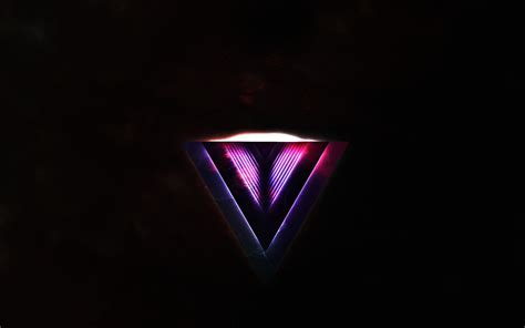 Reverted purple triangle wallpaper   1069820