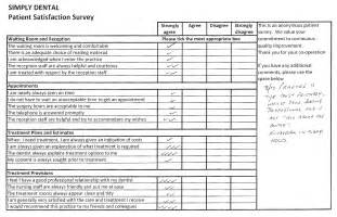 dental patient satisfaction survey template patient satisfaction soni dental implants