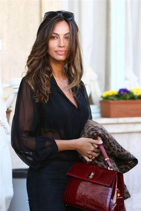 madalina ghenea madalina ghenea leaves her hotel in sanremo 02 05 2016