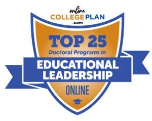 Educational Leadership Doctoral Programs - top 25 doctoral programs in educational leadership