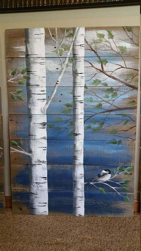tree painted on wood ideas 1000 ideas about rustic painting on painting picture frames wood pallets and barn wood