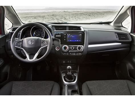 honda fit interior 2017 honda fit performance u s news world report