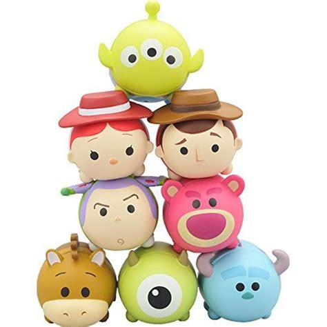 8 Pcs Mini Figure Set tsum tsum disney pixar mini figure 8 pcs set story monsters b a shop