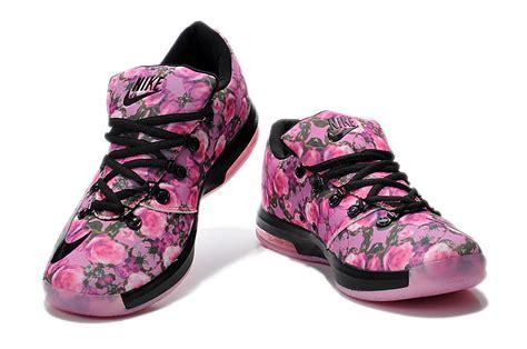 nike kevin durant kd 6 rose black pink for sale new