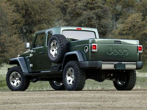 concept jeep truck 2005 jeep gladiator concept pictures review