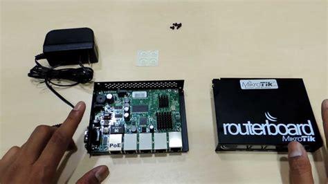 Router Mikrotik Rb450g sys2u แกะกล อง mikrotik rb450g heavy load router 5 port gigabit ethernet