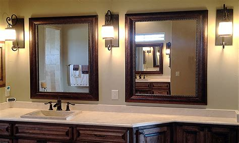 Large Mirror For Bathroom by Framed Bathroom Mirrors Framed Bathroom Mirror Large