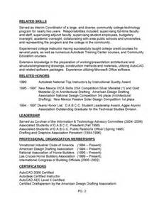 sample resume for drafting and design 1 drafting resume