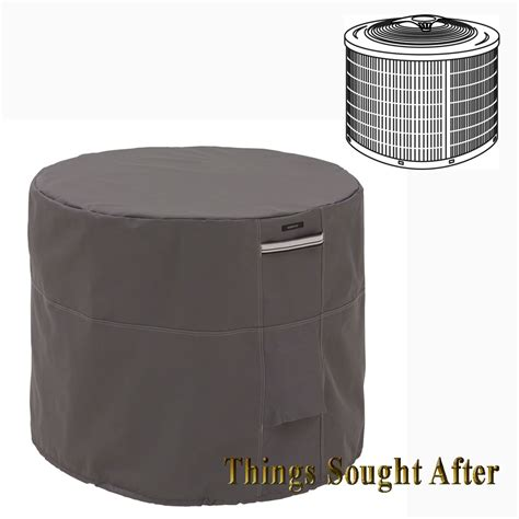 central air conditioner covers outside 34 inch round air conditioner cover for outdoor ground