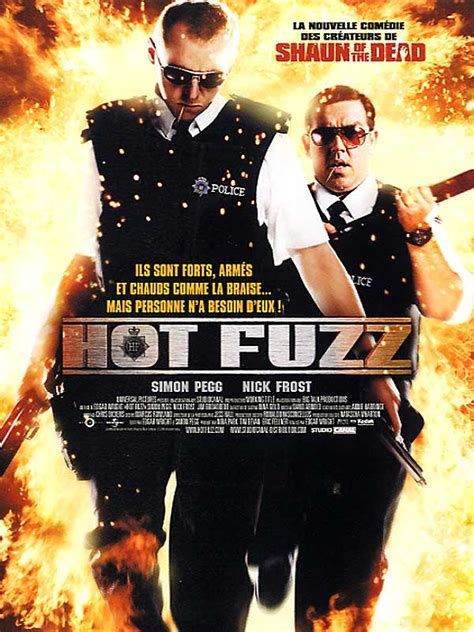 themes of hot fuzz hot fuzz critique bande annonce affiche dvd blu ray