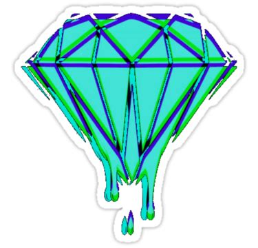 diamond supply co home decor quot diamond supply co quot stickers by yrreb redbubble