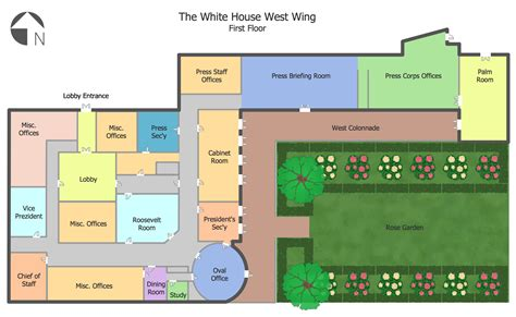 whitehouse floor plan white house west wing tv show floor plan