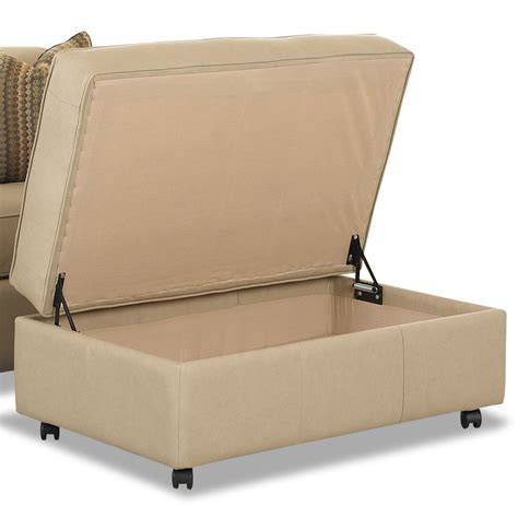 Stylish And Fashionable Oversized Storage Ottoman Oversized Ottoman With Storage