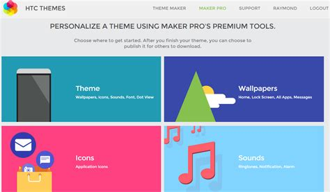 htc themes upload creating and publishing your own design for htc themes