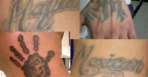 mexican mafia tattoos mexican mafia sweep may not help fight gangs decrease crime