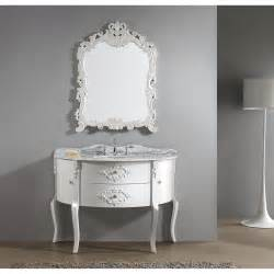 virtu usa abigail 48 quot white bathroom vanity white finish solid oak wood construction