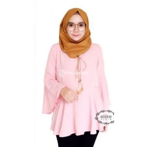 Blouse Nola baju new nola blouse bahan crepe high quality kombinasi