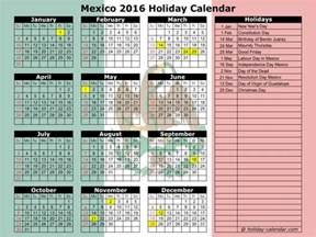 mexican holiday calendar blank calendar design 2017