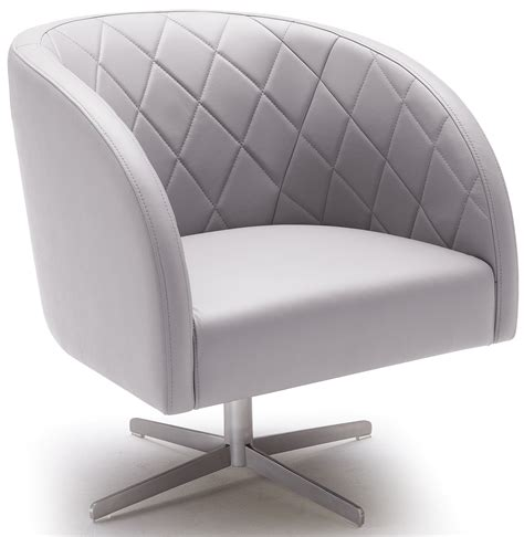 boulevard grey swivel arm chair from sunpan 88038