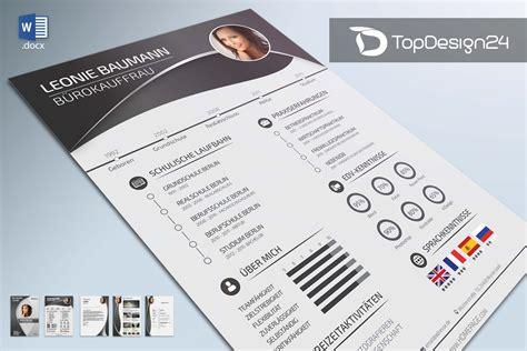 Moderner Lebenslauf 2016 by Musterlebenslauf Topdesign24 Bewerbungsvorlagen