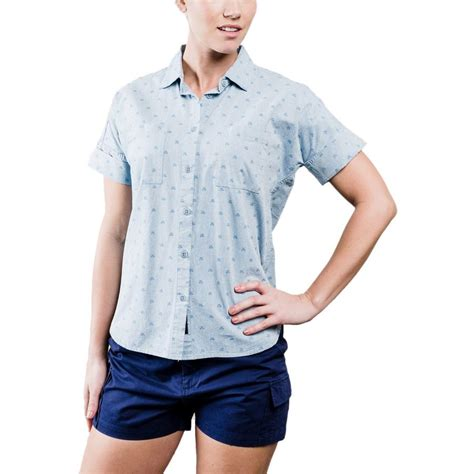 honeycomb pattern shirt united by blue honeycomb shirt short sleeve women s