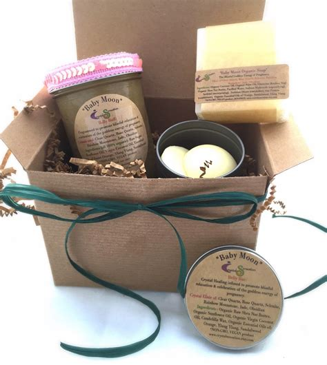 Eco Pregnancy Gift Set by Baby Moon Bath And Gift Set Gift By