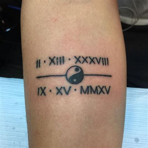 45 unique roman numerals tattoo that speaks more than just roman numeral tattoos on wrist tattoo collections