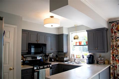Overhead Kitchen Lights Ceiling White The Choice To Kitchen Ceiling Designs In Order That Look Contrast Color Kitchen