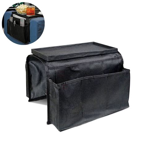 armchair caddy storage sofa couch armrest organizer armchair caddy tv remote